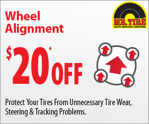 Ntb Oil Change Coupon >> Mr Tire 20% OFF Wheel alignment coupon May 2016